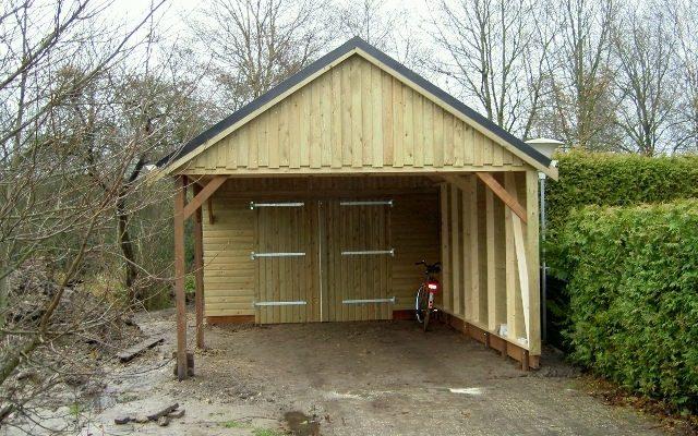 Garage carport
