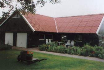 Houtbouw Garage Schuur : Garage hgg 10 l houtbouw hiemstra twijzel
