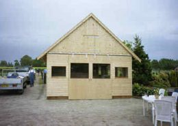 Houten Schuur Kopen : Houten schuur houtbouw hiemstra twijzel